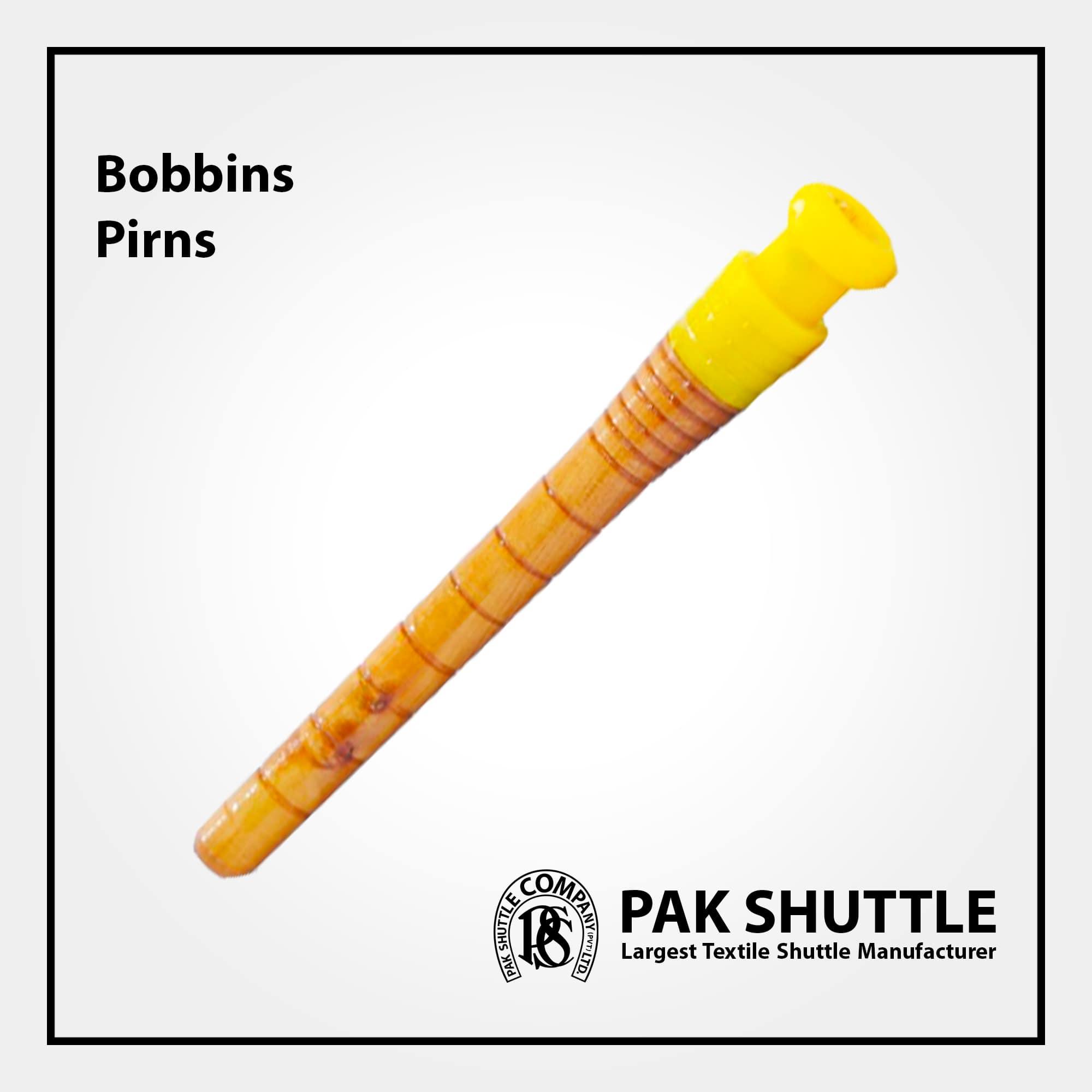 BOBBINS & PIRNS (For Various Shuttles) by Pak Shuttle Company Pvt Ltd.