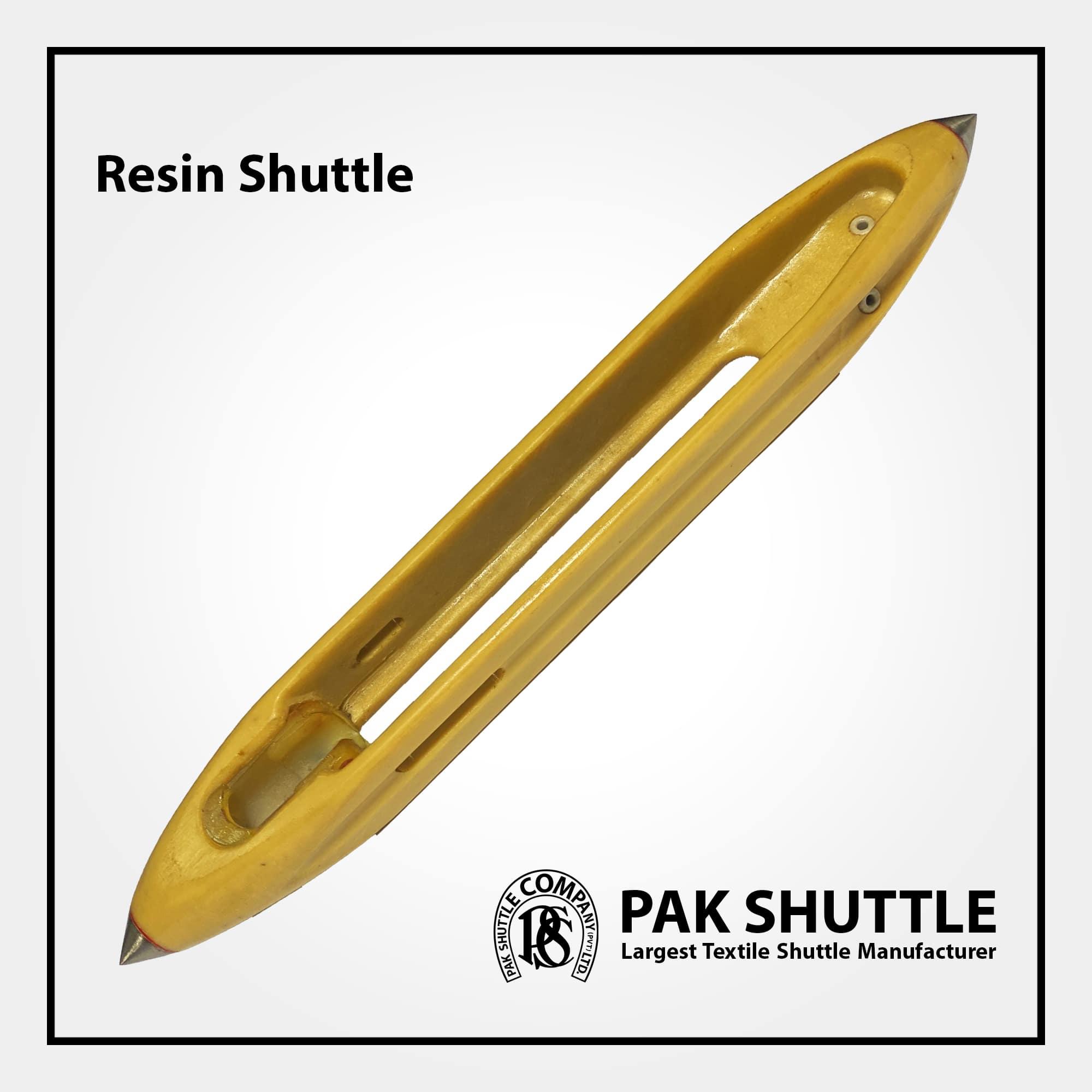 Resin Shuttle by Pak Shuttle Company Pvt Ltd.