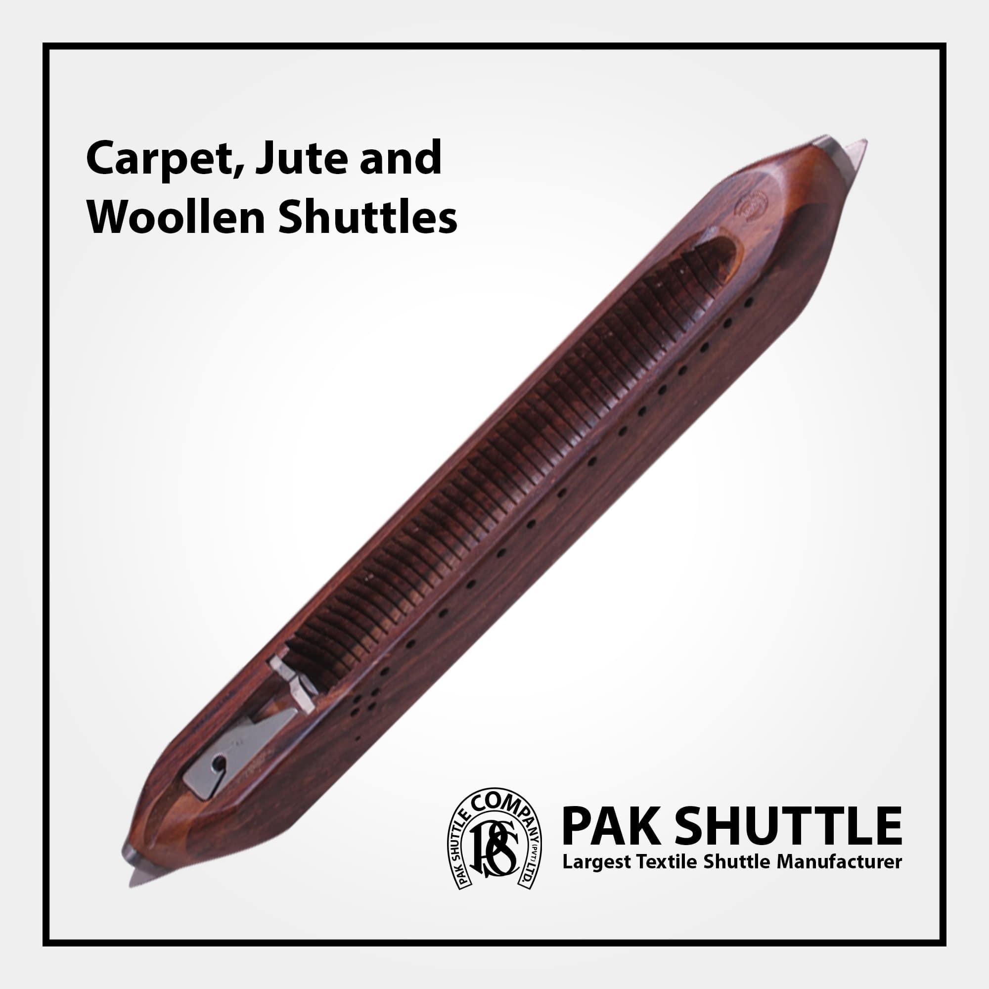 Carpet, Jute & Woolen Shuttle by Pak Shuttle Company Pvt Ltd.