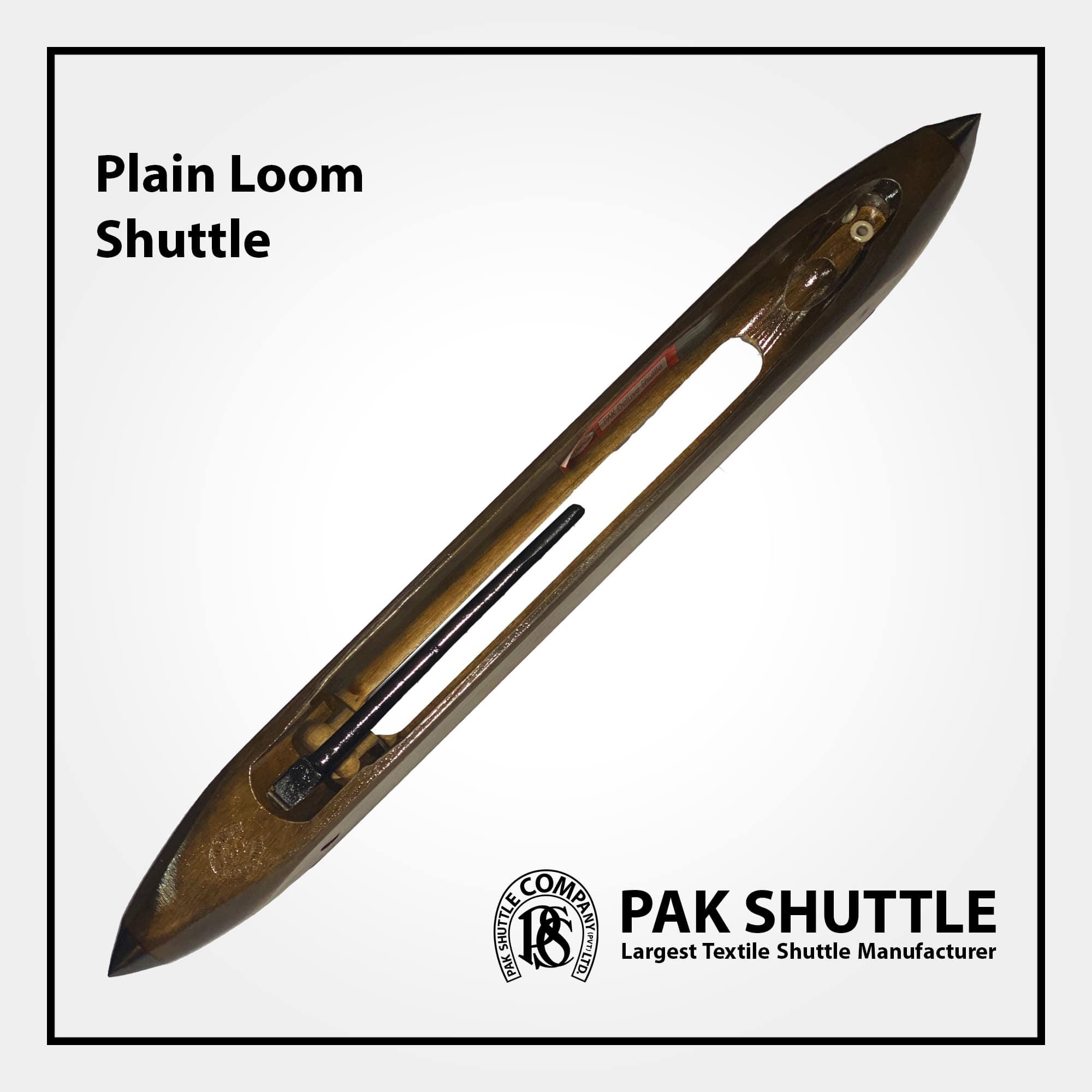Plain Loom Shuttle by Pak Shuttle Company Pvt Ltd.