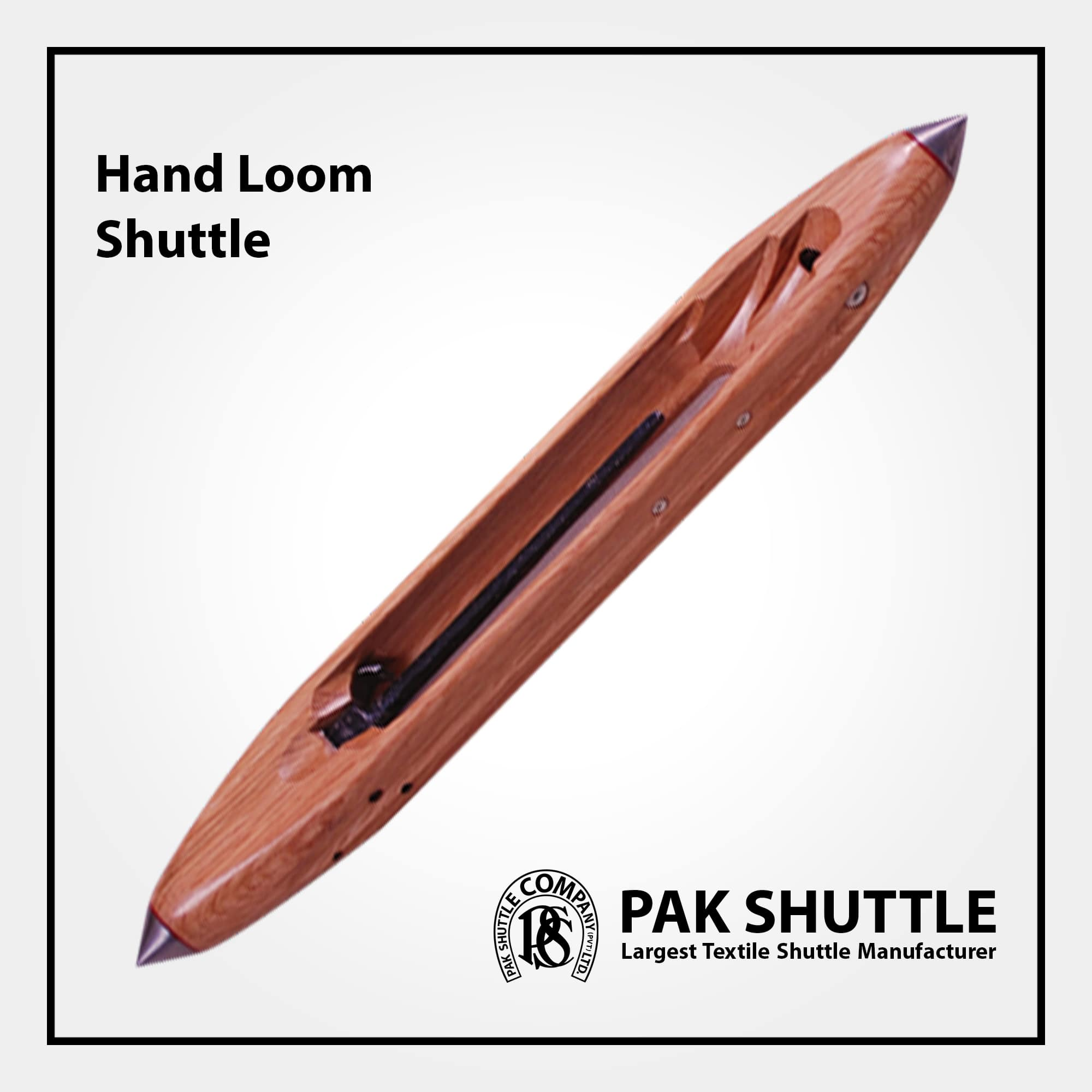 Hand Loom Shuttle by Pak Shuttle Company Pvt Ltd.